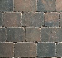 SORRENTO BLOCK PAVING - RUSTIC GOLD